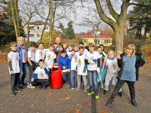 Müll-Detektive unterwegs in Tegel-Süd
