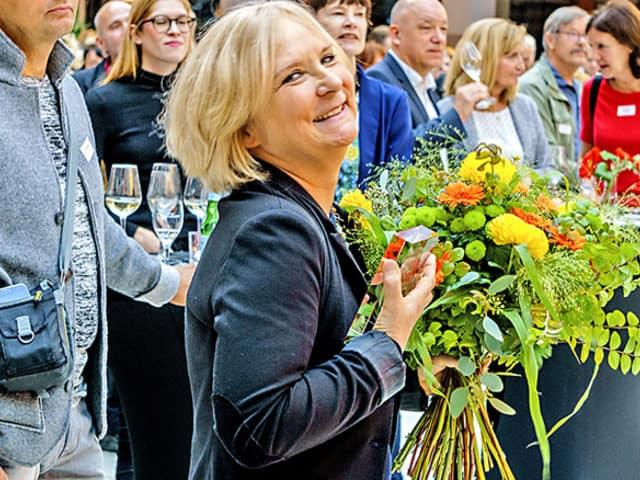 Sylvia Seelmann erhält Kunstpreis Brandenburg