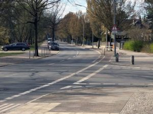 Rennstrecke Heiligenseestraße?