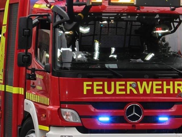 Dekontamination nach Chemie-Unfall in Wittenau