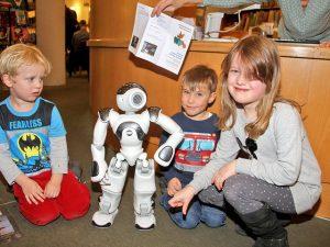 Der Tanz des kleinen Roboters