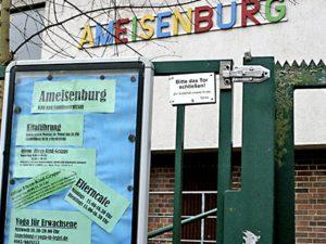 Ameisenburg bleibt
