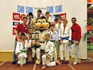 Tegeler Judoka erkämpften Bronze