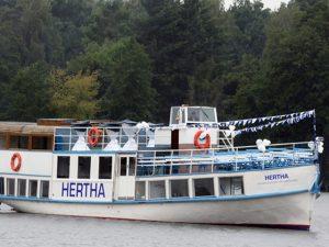 """""""Hertha"""" schwimmt?"""