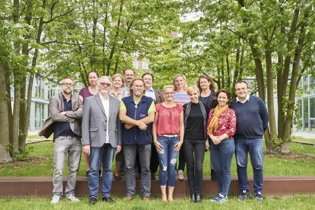 Das Team des RAZ Verlags im Jahr 2019