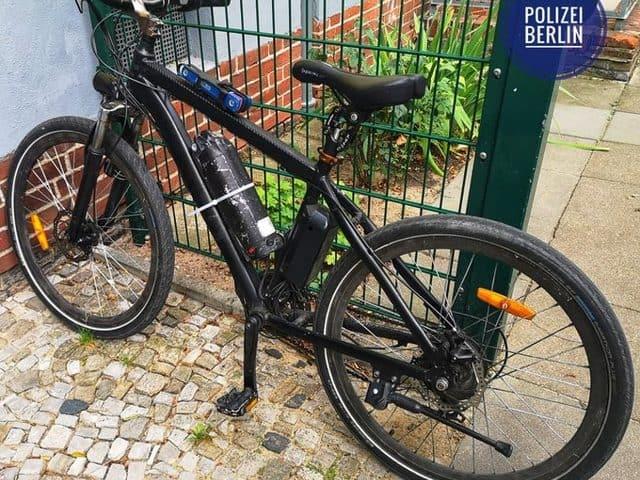 Radler mit selbstgebasteltem E-Bike gestoppt