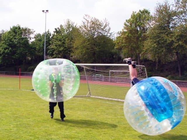 Bubble-Ball als Attraktion