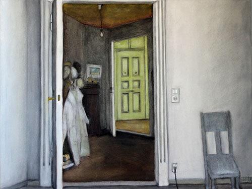Gemälde mit einer Wohnungsansicht