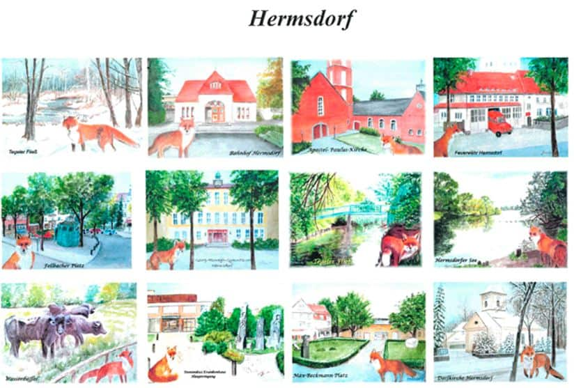 Fuchs-Kalender für Hermsdorf