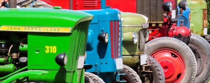 Traktorenreihe