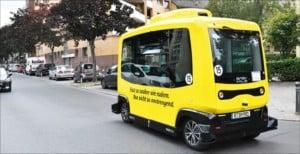 E-Kleinbus – 3.200 Kilometer autonom unfallfrei