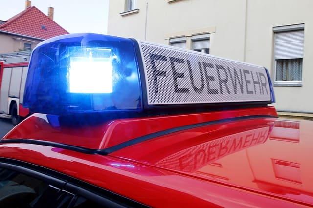 Feuerwehrauto-Dach