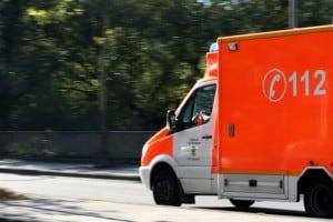 Zwei Autofahrer an Ollenhauerstraße verletzt