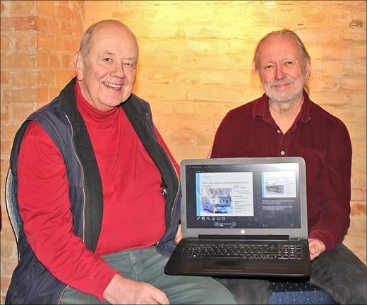Jo Kraus und Dr. Udo Maack