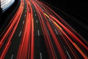 Nachtsperrung auf der A111