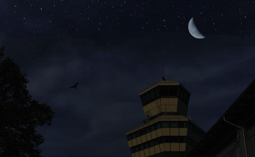 Nachtflug am TXL erlaubt