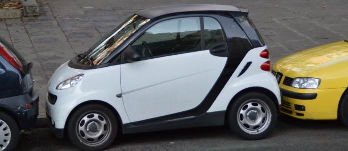 geparkte Autos