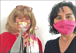 Masken aus Servietten