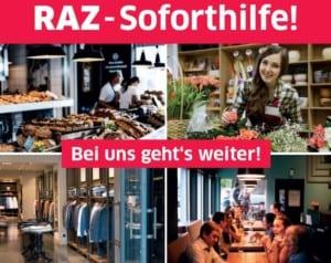 RAZ-Soforthilfe: