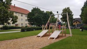 Spielplatz am Saalmannsteig eröffnet