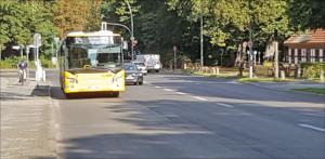 Mehr Busspuren im Bezirk
