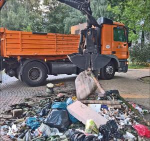 Ein Zeichen für eine saubere Stadt setzen