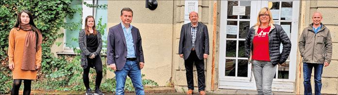 MitarbeiterInnen des Reinickendorfer Gesundheitsamts