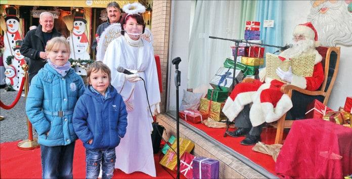 Kinder, Engel und Nikolaus