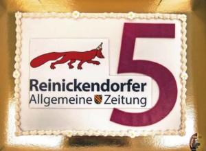Bewegte Jahre in und für Reinickendorf: Die RAZ begeht 5. Geburtstag