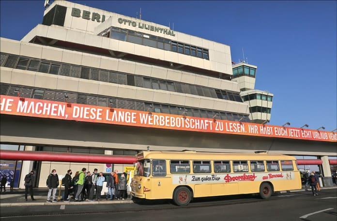 Terminal am Flughafen Tegel