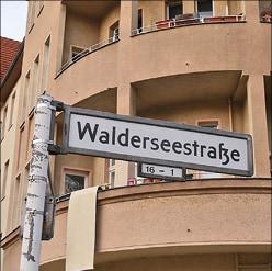 Walderseestraße: Einbahnstraße der Geschichte