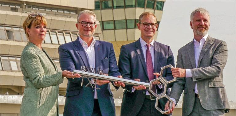 Tegels neue Schlüsselrolle für die Stadt