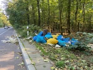 Gefährlicher Müll im Trinkwasserschutzgebiet